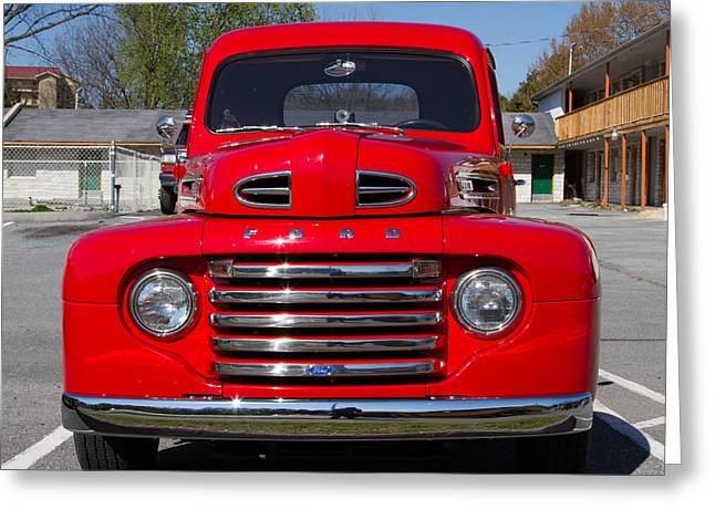 Coolant Greeting Cards - Ford Truck Greeting Card by Robert L Jackson