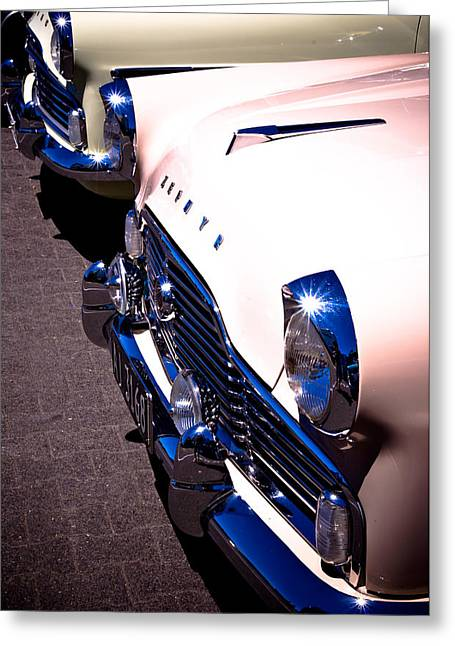 Autofocus Photographs Greeting Cards - Ford Zephyrs Greeting Card by Phil