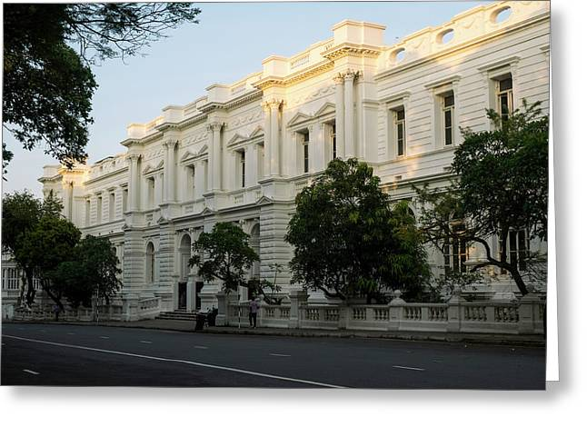 Foreign Affairs Ministry Building Greeting Card by Panoramic Images