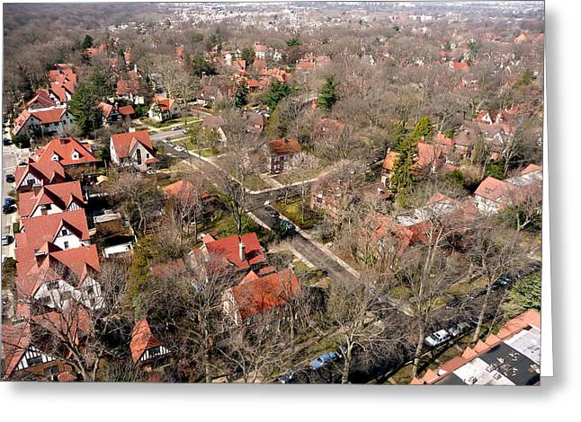 Residential Structure Greeting Cards - Forest Hills Gardens Queens NY Greeting Card by Kenneth Summers