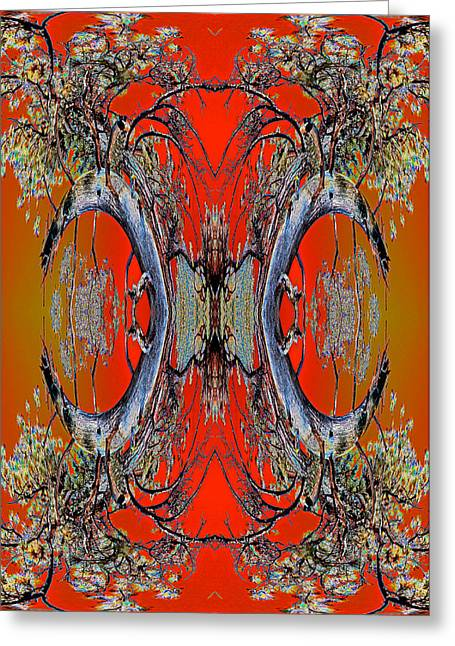 Order From Disorder Greeting Cards - Forest Ritual 2013 Greeting Card by James Warren