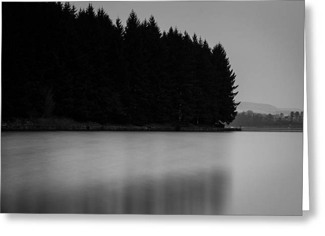 Cold Greeting Cards - Forest Silhouette. Greeting Card by Daniel Kay