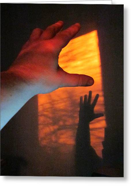 Guy Ricketts Photography Greeting Cards - Forever Living Hands Greeting Card by Guy Ricketts