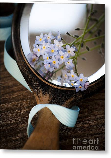 """forget Me Not"" Greeting Cards - Forget Me Not Greeting Card by Jan Bickerton"