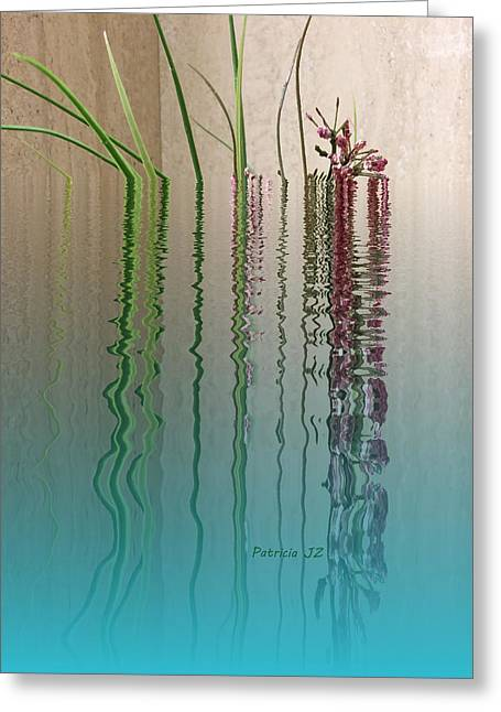 Forgiven Mixed Media Greeting Cards - Forgive Reality Greeting Card by Patricia Januszkiewicz