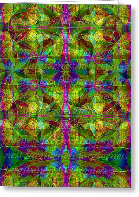 Forgiveness Digital Art Greeting Cards - Forgiveness Greeting Card by Deprise Brescia