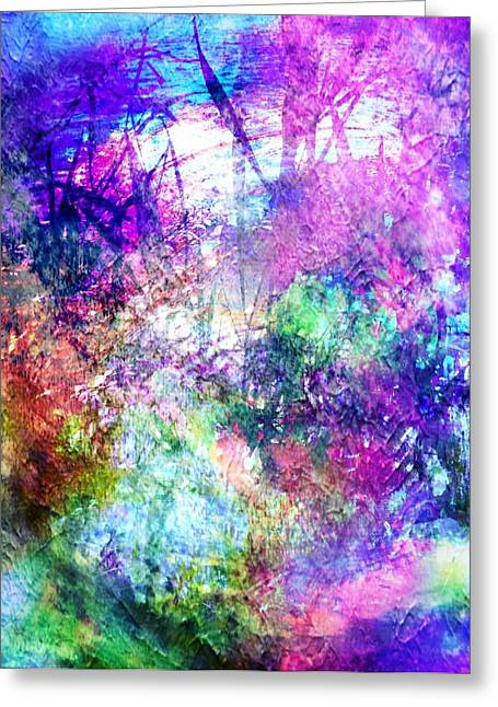Forgiveness Digital Art Greeting Cards - Forgiveness Greeting Card by Mo Davies