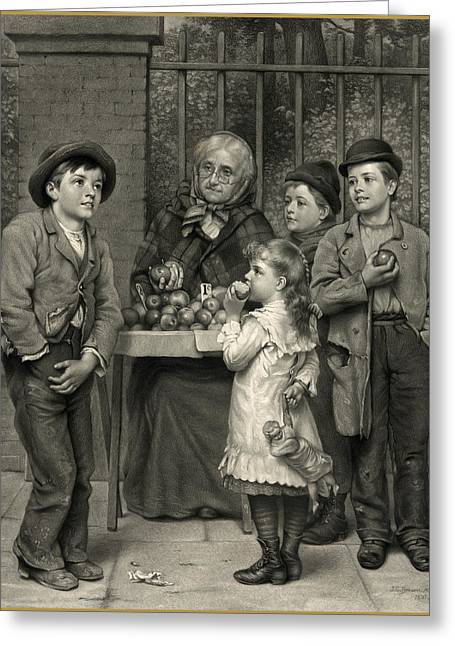 Antique Digital Art Greeting Cards - Forgot the Money Greeting Card by Gary Grayson