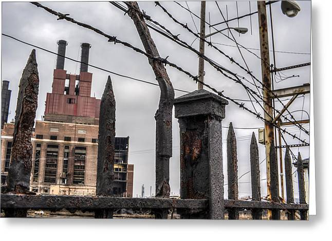 Power Plants Greeting Cards - Forgotten 1 Greeting Card by Monty Photography