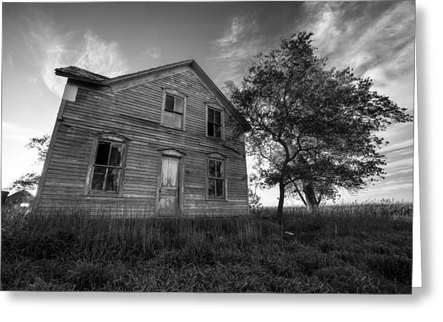 Abandoned Houses Photographs Greeting Cards - Forgotten Greeting Card by Aaron J Groen