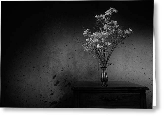 Interior Still Life Photographs Greeting Cards - Forgotten Greeting Card by Alexey Stiop