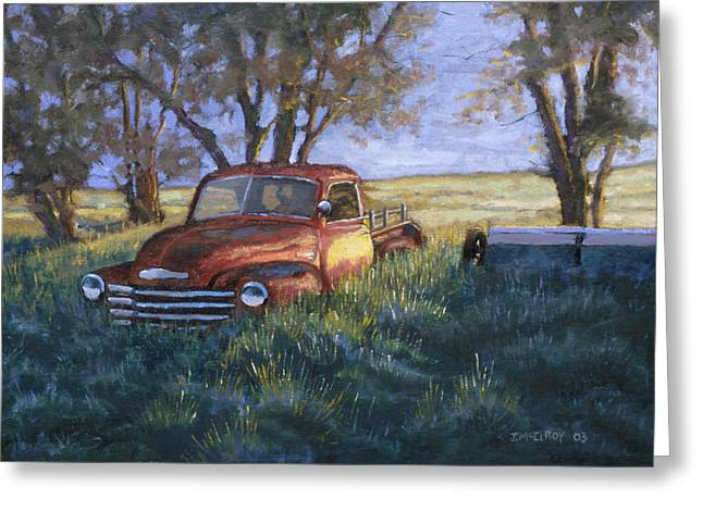 Pickup Greeting Cards - Forgotten but still Good Greeting Card by Jerry McElroy