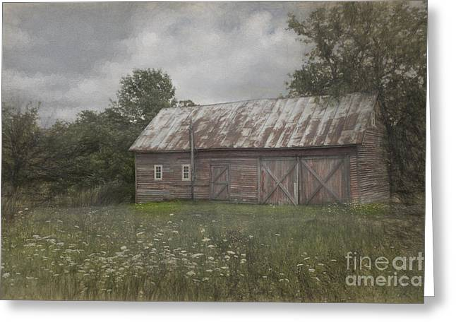 Landscape Photograpy Greeting Cards - Forgotten By Time Greeting Card by Sandra Bronstein
