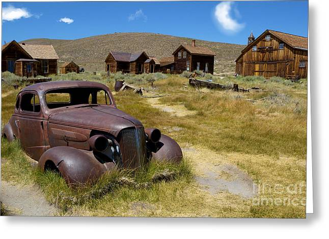 Unrestored Greeting Cards - Forgotten Greeting Card by Derrick DeCorte