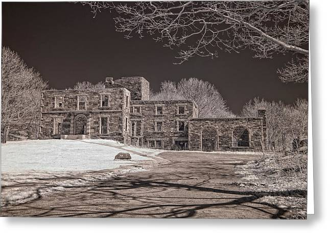 Forgotten Fort Williams Greeting Card by Joann Vitali