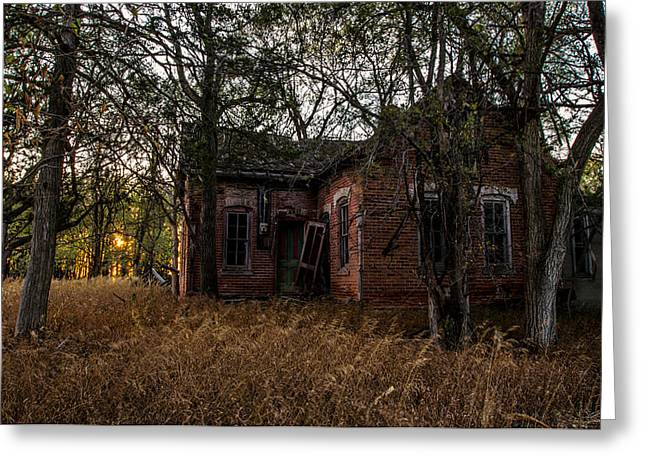 Forgotten Greeting Cards - Forgotten III Greeting Card by Aaron J Groen