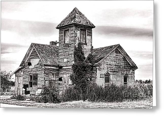 Forgotten In South Jersey Greeting Card by Olivier Le Queinec