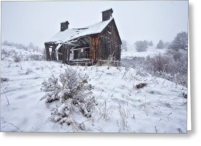 Ghost Town Greeting Cards - Forgotten in Time Greeting Card by Darren  White