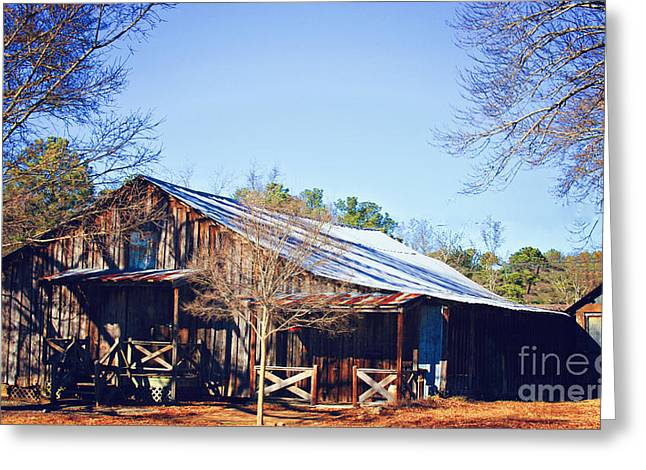 Old House Photographs Digital Art Greeting Cards - Forgotten  Greeting Card by Jinx Farmer