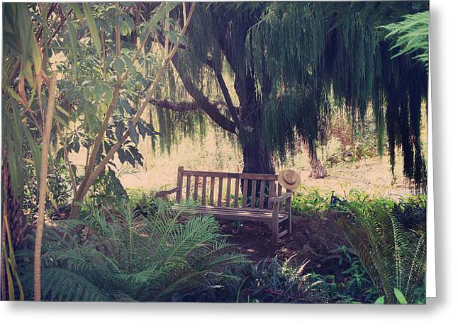 Lush Green Greeting Cards - Forgotten.... Greeting Card by Laurie Search