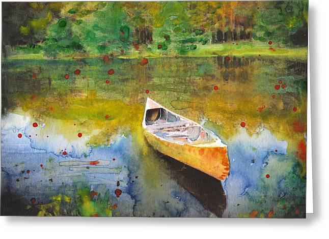 Forgotten Memories Greeting Card by Susan Powell