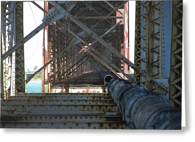 Bahia Honda State Park Greeting Cards - Forgotten Passage Greeting Card by Blind Eye Photo