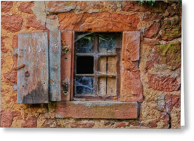 Broken Shutters Greeting Cards - Forgotten Times Greeting Card by Mountain Dreams