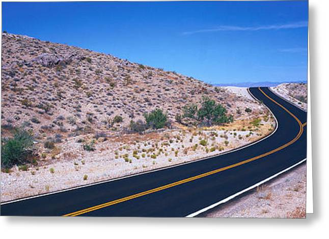 Choose Greeting Cards - Fork In The Road Greeting Card by Panoramic Images