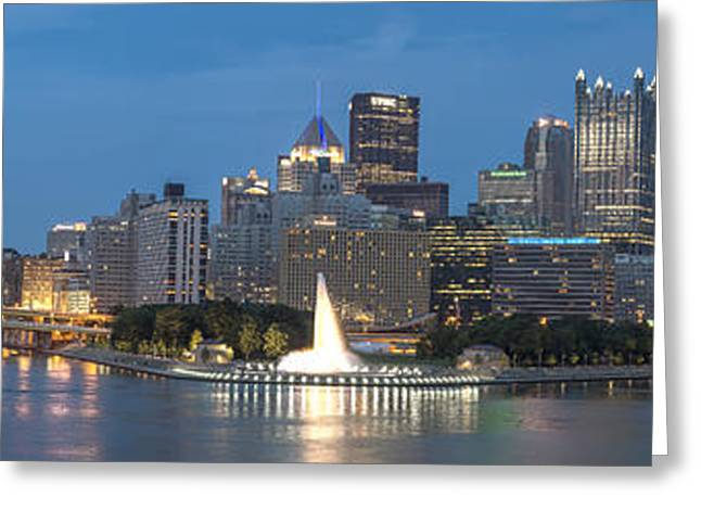 Allegheny Greeting Cards - Forks of the Ohio Greeting Card by Jennifer Grover