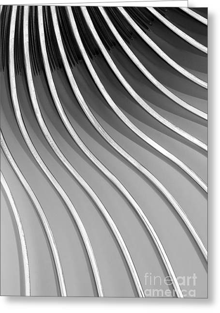 Curvaceous Greeting Cards - Forks V Greeting Card by Natalie Kinnear
