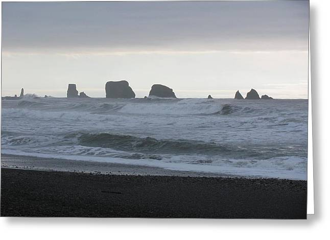 Pacific Ocean Prints Greeting Cards - Forks WA Greeting Card by Blanca Braun