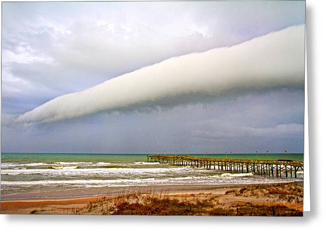 Turbulent Skies Photographs Greeting Cards - Formative Moments Greeting Card by Betsy C  Knapp