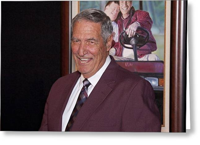 Former Coach of Alabama Gene Stallings Greeting Card by Mountain Dreams