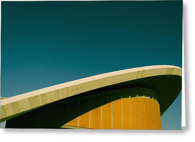 Haus Greeting Cards - Former Congress Hall Greeting Card by Ingo Jezierski