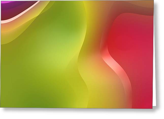 Abstract Forms Greeting Cards - Formes Lascives - 430c02 Greeting Card by Variance Collections