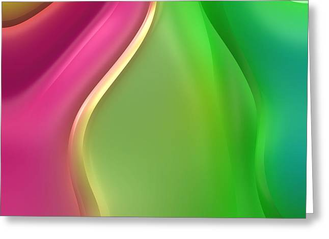 Abstract Forms Greeting Cards - Formes Lascives - 432 Greeting Card by Variance Collections