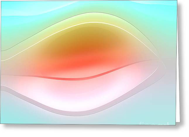 Forms Digital Art Greeting Cards - Formes Lascives - 809b Greeting Card by Variance Collections