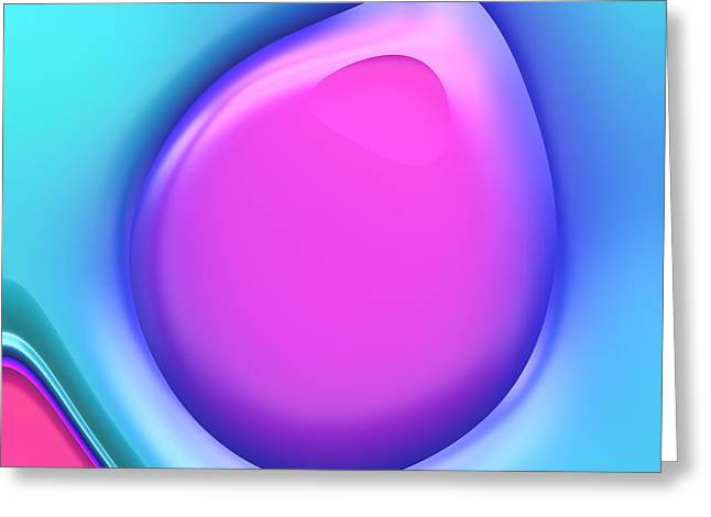 Forms Digital Art Greeting Cards - Formes Lascives - s38a Greeting Card by Variance Collections