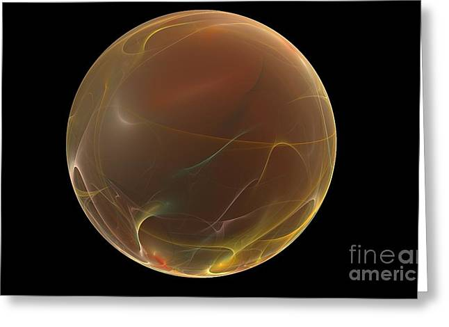 Profound Greeting Cards - Forming of the Sphere Greeting Card by Peter R Nicholls