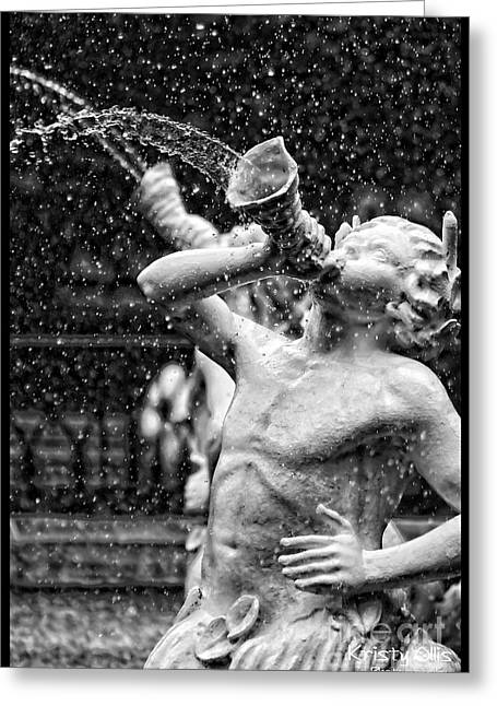 Forsyth Park Fountain Greeting Card by Kristy Ollis