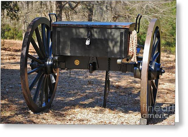 Confederate Hospital Greeting Cards - Fort Anderson Civil War Cannon 1 Greeting Card by Jocelyn Stephenson