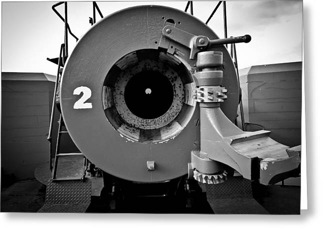 Deception Beach Greeting Cards - Fort Casey Cannon Greeting Card by Puget  Exposure