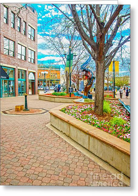 Fort Collins 3 Greeting Card by Baywest Imaging
