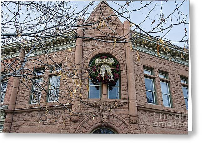 Fort Collins Greeting Cards - Fort Collins History Greeting Card by Keith Ducker