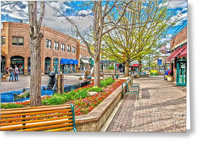 Fort Collins Greeting Card by Baywest Imaging