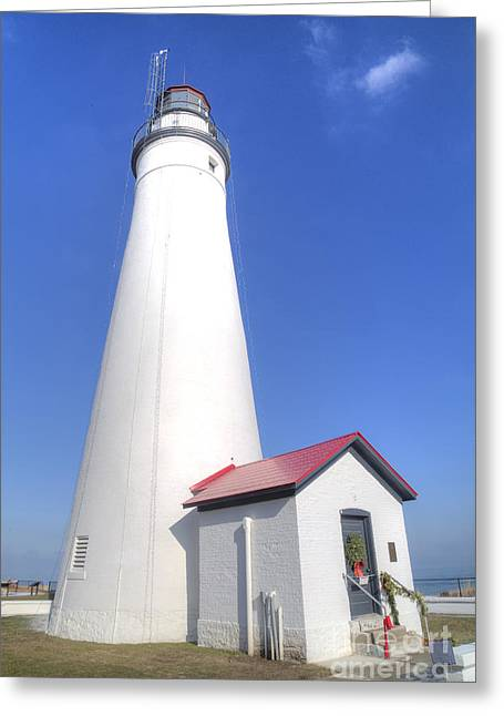 Fort Gratiot Lighthouse Greeting Card by Twenty Two North Photography