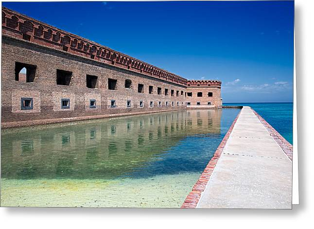 Dry Tortugas Greeting Cards - Fort Jefferson Dry Tortugas Greeting Card by Tim Dahl