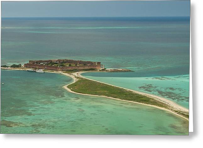 Dry Tortugas Greeting Cards - Fort Jefferson - Garden Key Greeting Card by Doug McPherson