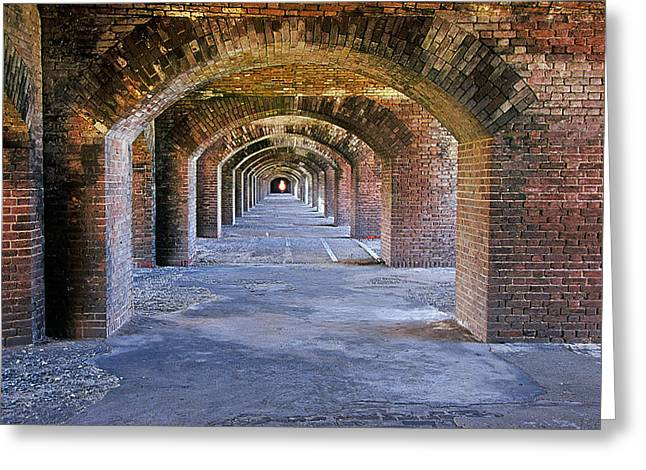 Dry Tortugas Greeting Cards - Fort Jefferson II Greeting Card by Buddy Mays