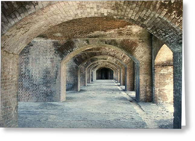 Dry Tortugas Greeting Cards - Fort Jefferson Dry Totugas Greeting Card by James DeFazio